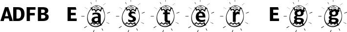 ADFB Easter Egg Font