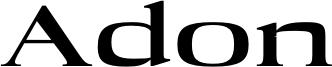 Adon Font