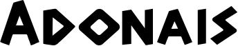 Adonais Font