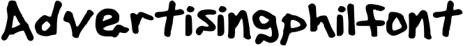 Advertisingphilfont Font