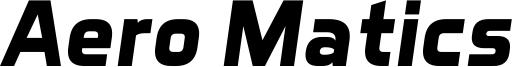 Aero Matics Bold Italic.ttf