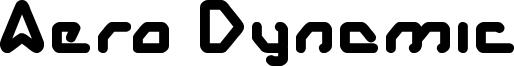 Aero Dynamic Font