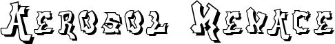 Aerosol Menace Font