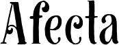Afecta Font