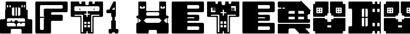 AFT1 Heterodoxa Font