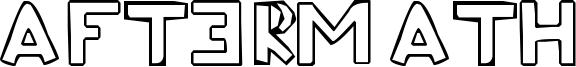 Aftermath Font