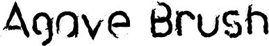 Agave Brush Font