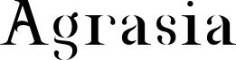 Agrasia Font