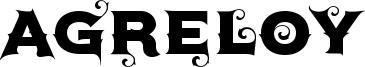 Agreloy Font