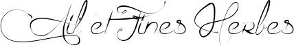 Ail et Fines Herbes Font