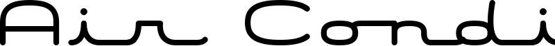 Air Conditioner Font