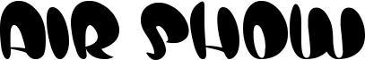Air Show Font