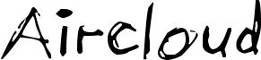 Aircloud Font