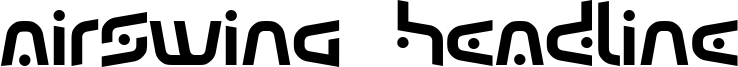 Airswing  Headline Font
