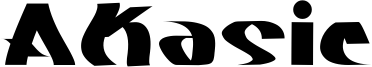 Akasic Font