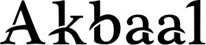 Akbaal Font