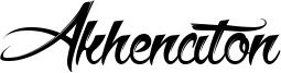 Akhenaton Font