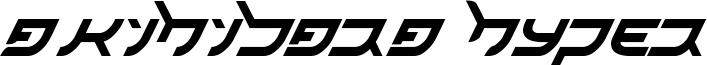 Akihibara Hyper Font