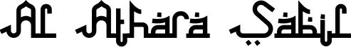 Al Athara Sabil Font