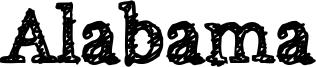 Alabama Font