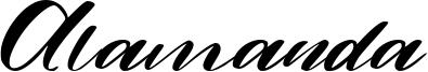 Alamanda Font