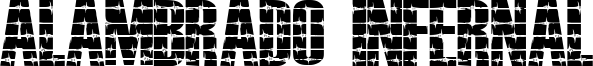 Alambrado Infernal Font