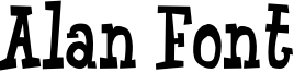 Alan Font Font