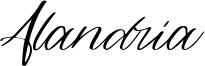 Alandria Font