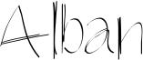 Alban Font