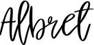 Albret Font