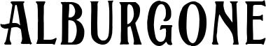 Alburgone Font