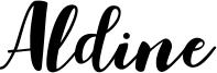 Aldine Font