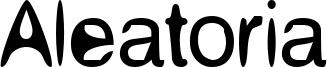 Aleatoria Font