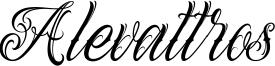 Alevattros Font
