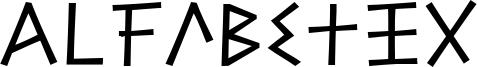 Alfabetix Font
