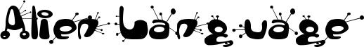 Alien Language Font