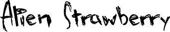 Alien Strawberry Font