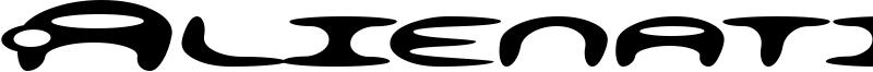 Alienation Font
