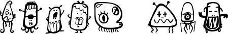 Alien dco Font