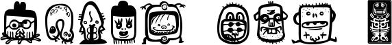 Alien dco 2 Font