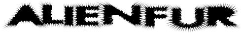 AlienFur Font