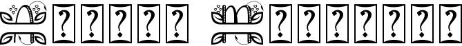 Alinda Monogram Font