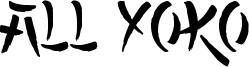 All Yoko Font