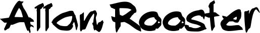 Allan Rooster Font