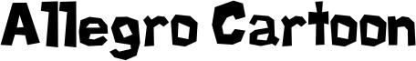 Allegro Cartoon Font