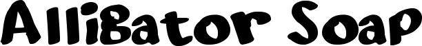 Alligator Soap Font