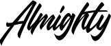 Almighty Font