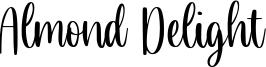 Almond Delight Font