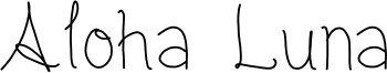 Aloha Luna Font