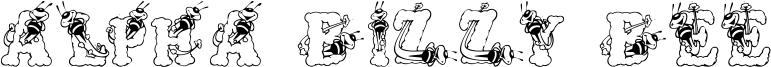 Alpha Bizzy Bee Font